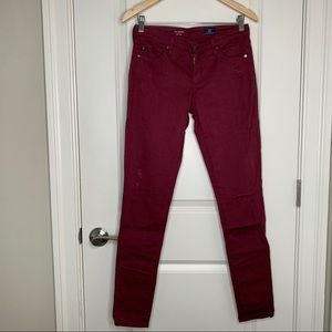 Ag The Legging Super Skinny Distressed Pants